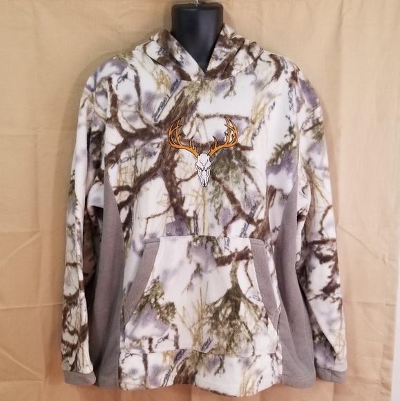 8bd10f9f8d517 True Timber Snow Camo Fleece Pullover Hoodie 2XL. M_5bb014f4aa5719a107036ca0